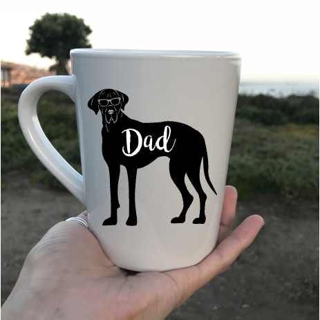 Great Dane Dad Coffee Mug - Dope Dog Co