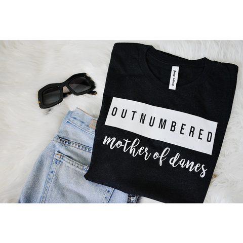 Outnumbered Danes Tee