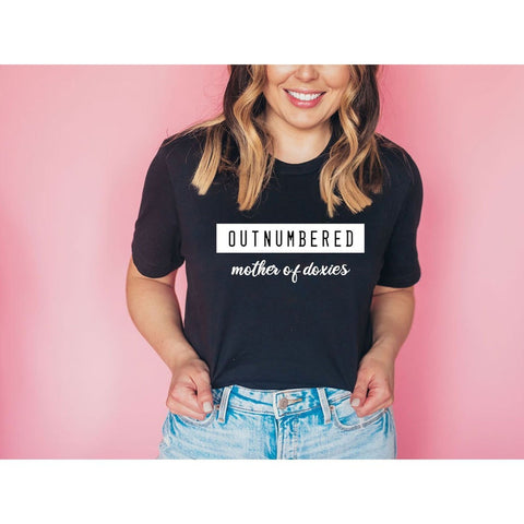 Outnumbered Doxies Tee - Dope Dog Co