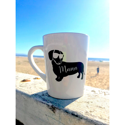 Dachshund Mama Coffee Mug - Dope Dog Co