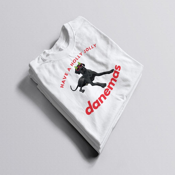 Holly Jolly Danemas Tee