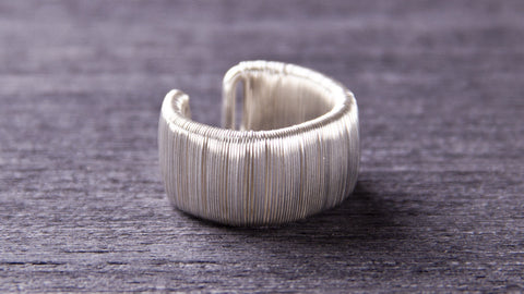 handmade sterling silver jewelry ring