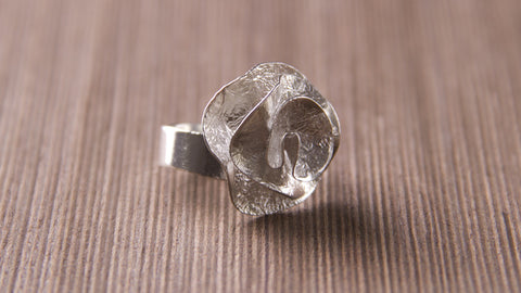 Handmade sterling silver jewelry rose designs