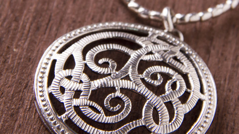 handmade sterling silver jewelry Marie design