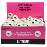 Butterfly Easy Ball G40 - Box of 6 - Sports Ball Warehouse