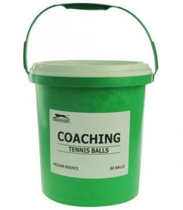 Slazenger Tennis Ball Value Bucket (5 Doz) - Sports Ball Warehouse