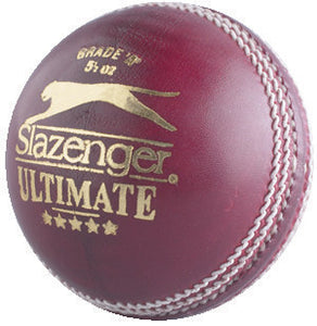 Slazenger Ultimate (5 1/2 Oz) Cricket Ball - Sports Ball Warehouse