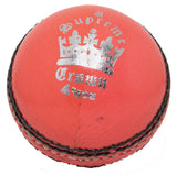 Martin Berrill Sports Supreme Crown Cricket Ball (Orange) - Sports Ball Warehouse