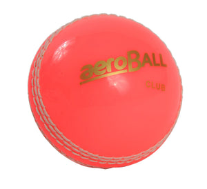 Aero Incrediball Pink Cricket Ball - Sports Ball Warehouse