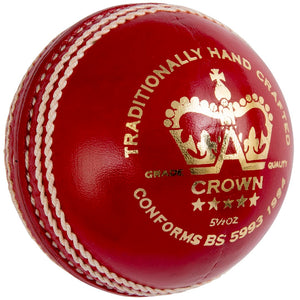 Gray Nicolls Crown 5 Star Cricket Ball - Sports Ball Warehouse