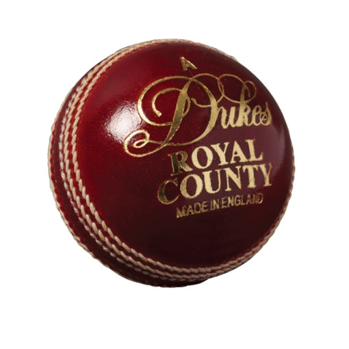 Dukes County Royal Cricket Ball Senior) - Sports Ball Warehouse