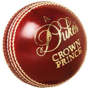 Dukes Crown Prince A Cricket Ball (Senior) - Sports Ball Warehouse