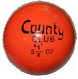 Hunts County Club Orange Cricket Ball - Sports Ball Warehouse