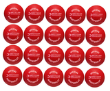 Official UKDBA Foam Dodgeball - Pack of 20 (Red) - Sports Ball Warehouse