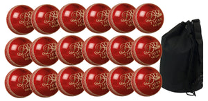 Dukes Tiger Junior Red 18 Pack With Ball Bag - Sports Ball Warehouse