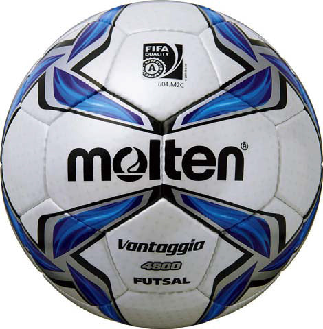Molten F9V4800 FIFA Approved Leather Futsal Ball - Sports Ball Warehouse