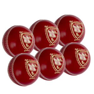 Gray Nicolls Crest Academy Junior Red 6 Pack - Sports Ball Warehouse