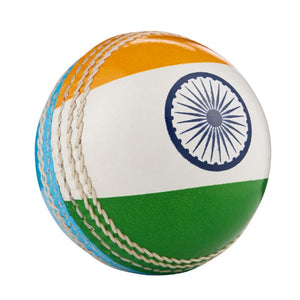 Hunts County International Cricket Flag Ball - India - Sports Ball Warehouse