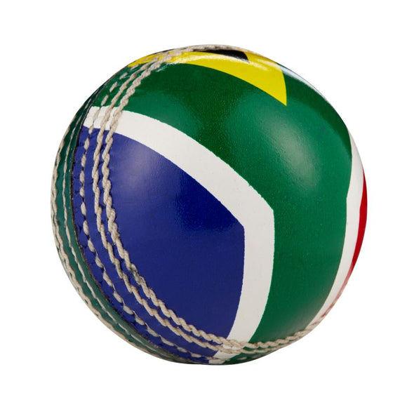 Hunts County International Cricket Flag Ball - South Africa - Sports Ball Warehouse