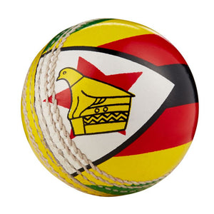 Hunts County International Cricket Flag Ball - Zimbabwe - Sports Ball Warehouse