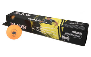 Lion Orange Table Tennis Balls 2 Star - Pack of Six - Sports Ball Warehouse