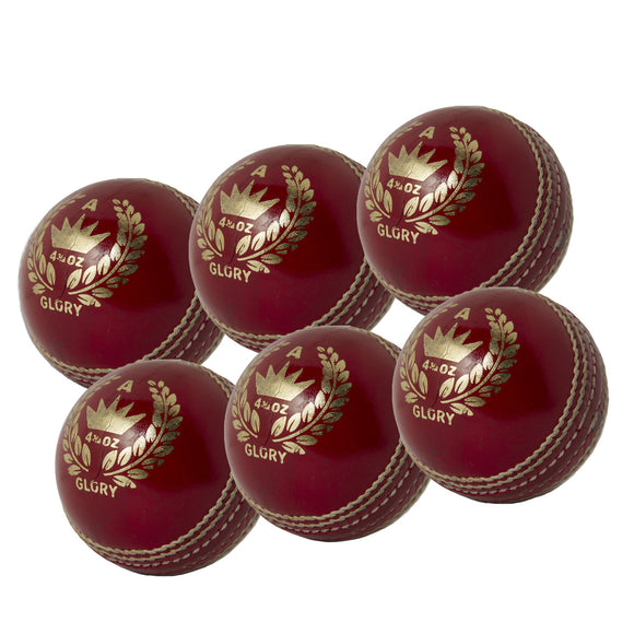 MBS Glory Senior Red 6 Pack - Sports Ball Warehouse