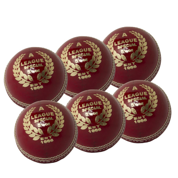 MBS League Special Senior Red 6 Pack - Sports Ball Warehouse