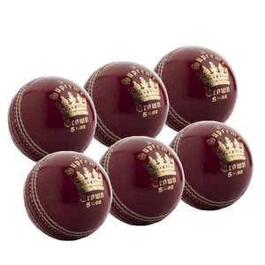 MBS Supreme Crown Senior Red 6 Pack - Sports Ball Warehouse