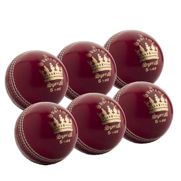 MBS Supreme Special Senior Red 6 Pack - Sports Ball Warehouse