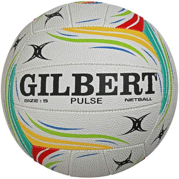 Gilbert Pulse Training Netballs (5 Pack) - Sports Ball Warehouse