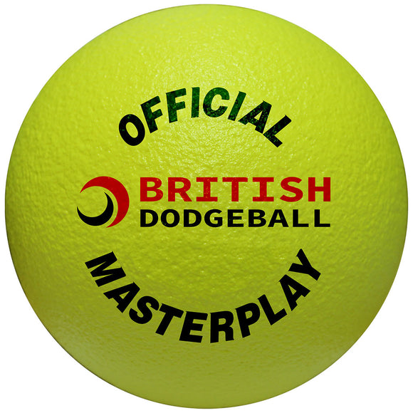 Official UKDBA Foam Dodgeball - Single - Sports Ball Warehouse
