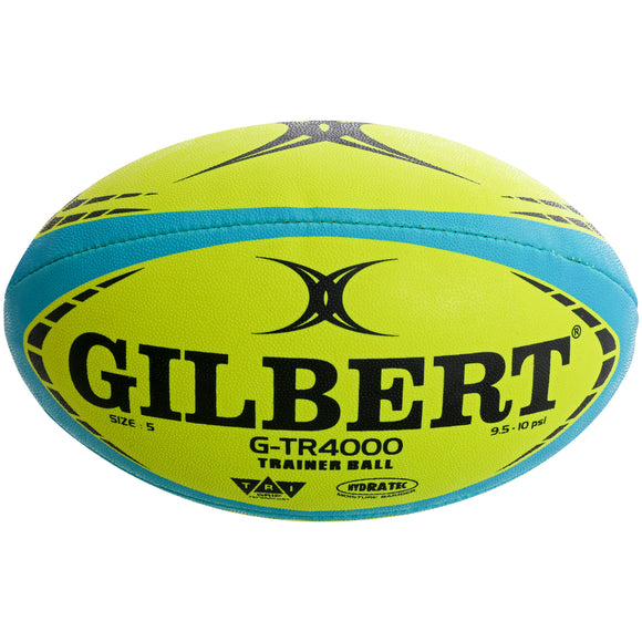 Gilbert G-TR4000 Training Fluoro Rugby Ball - Sports Ball Warehouse