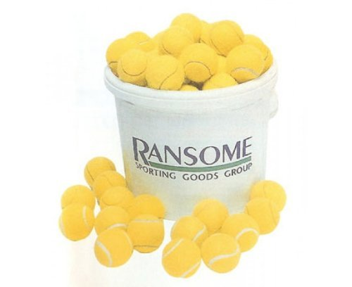 Ransome Bucket Of 96 Tennis Balls - Sports Ball Warehouse