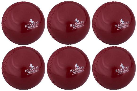 Readers Windball Senior Maroon 6 Pack