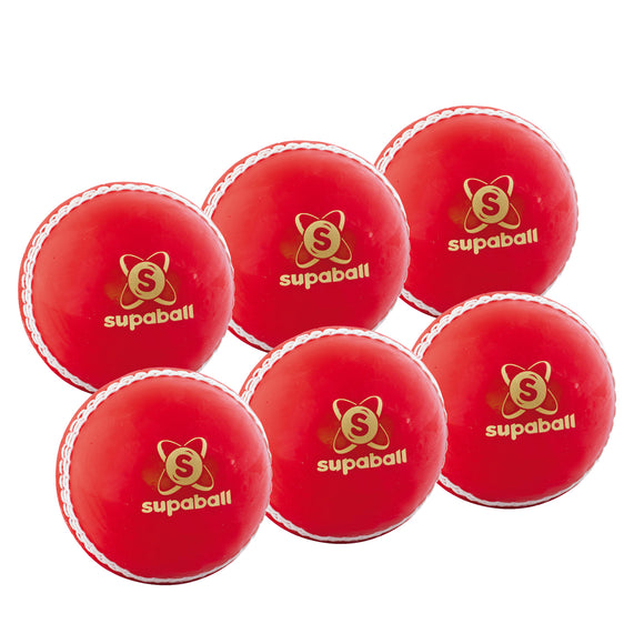Readers Supaball Junior Red 6 Pack - Sports Ball Warehouse