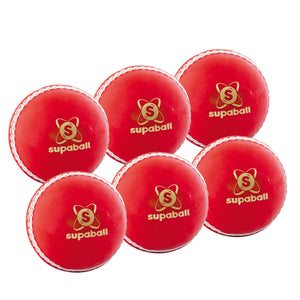 Readers Supaball Senior Red 6 Pack - Sports Ball Warehouse