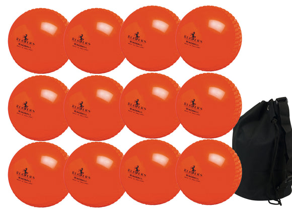 Readers Windball Junior Orange 12 Pack With Ball Bag - Sports Ball Warehouse