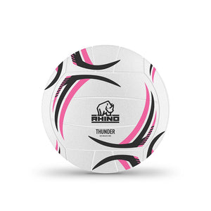 Rhino Thunder Moulded Netball - Sports Ball Warehouse