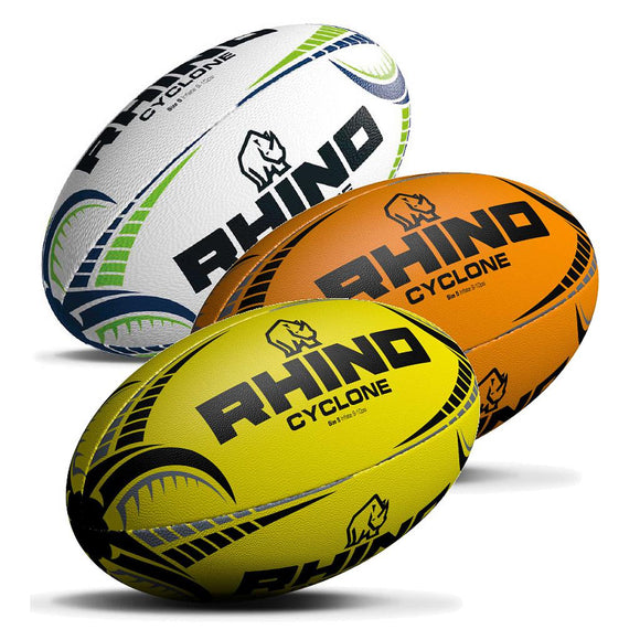Rhino Cyclone Rugby Ball - Sports Ball Warehouse