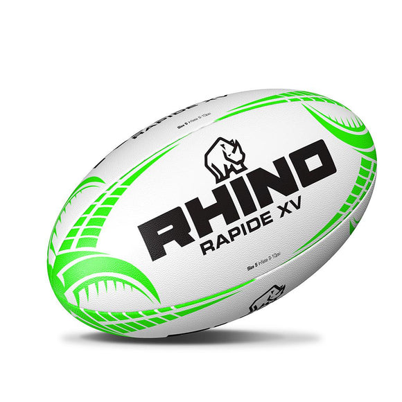 Rhino Rapide XV Rugby Ball - Sports Ball Warehouse