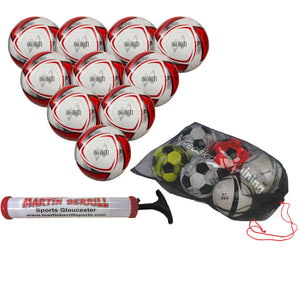 Samba Infiniti Training Ball Ten Pack with Mesh Ball Sack and Hand Pump - Sports Ball Warehouse