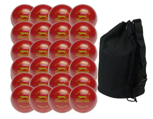 Slazenger Victorious Senior Cricket Ball - Twenty Four Pack - Sports Ball Warehouse