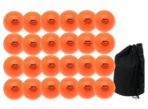 Slazenger Airball Senior Orange 24 Pack With Ball Bag - Sports Ball Warehouse