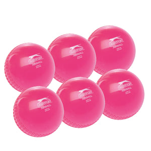 Slazenger Airball Senior Pink 6 Pack - Sports Ball Warehouse