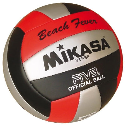 Mikasa VXS-BF Outdoor Volleyball (Red/Black/Silver) - Sports Ball Warehouse