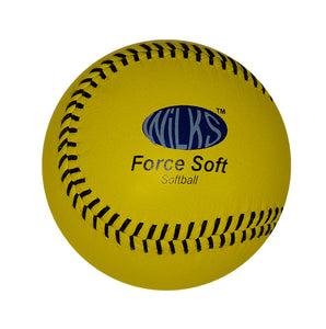Wilks Force Soft Softball Ball - Sports Ball Warehouse