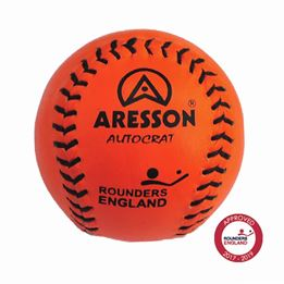 Aresson Autocrat Rounders Ball (Orange) - Sports Ball Warehouse