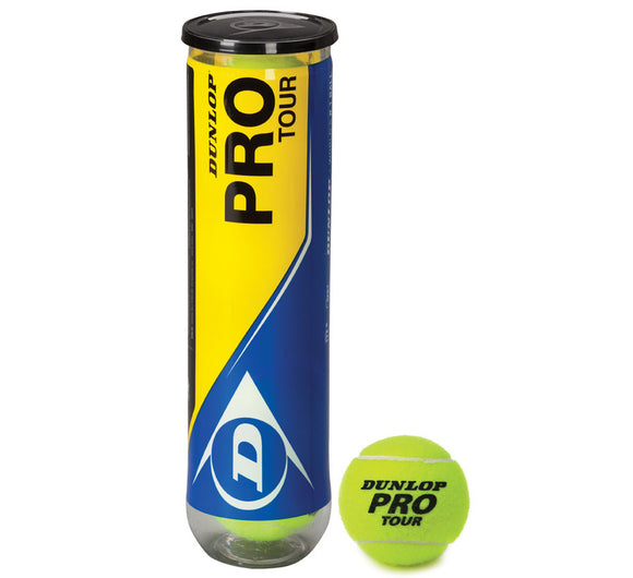Dunlop Pro Tour (4 Ball Tube) - Sports Ball Warehouse