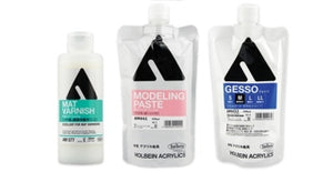 Holbein Gels, Mediums & Grounds