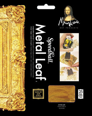 Speedball Mona Lisa Composition Metal Leaf - Gold